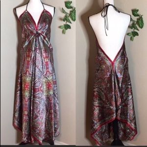 3️⃣/$2️⃣5️⃣ Pearl Handkerchief Dress One Size